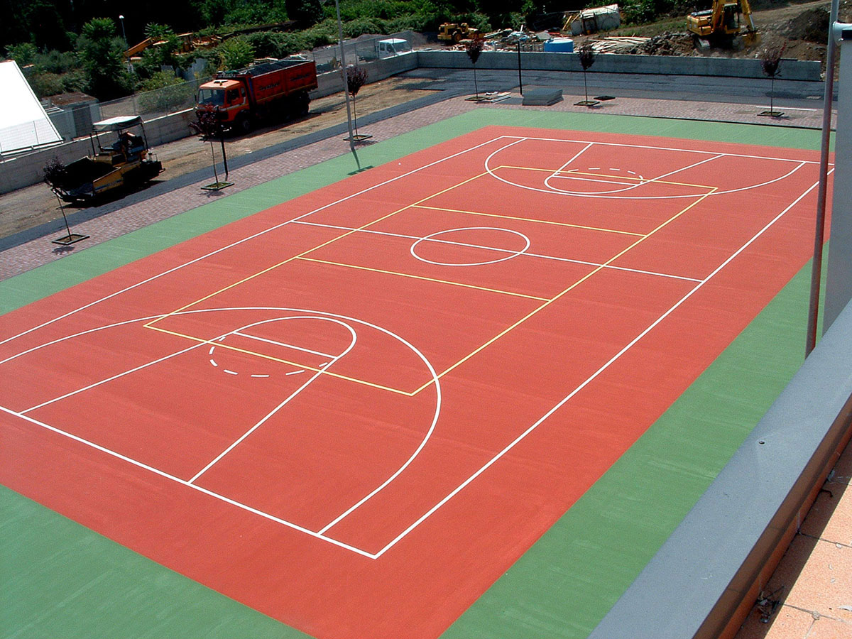 Slalom tra le righe ss redentore for Campo da basket regolamentare